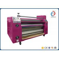 Automatic Sublimation Pink Oil  Roller Heat Transfer Machine CE