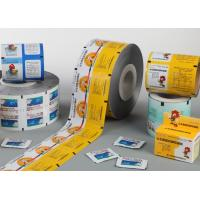 Wholesale 50mm - 800mm Food Grade PET Alu PE Aluminium Film For Blister Packaging from china suppliers