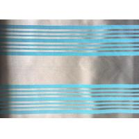 Wholesale Woven Blue Jacquard Damask Fabric Striped Jacquard Bed Linen from china suppliers