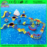 Buy cheap Giant inflatable water park/Summer games for adult/used water park slides for sale from wholesalers