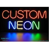 Wholesale Restaurant Custom Neon Signs , Soft PVC / Plastic Frame Neon Sign from china suppliers