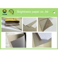 Quality Glossy Surface Cigarette Boxes Cardboard , Coated Duplex Board With Grey Back for sale