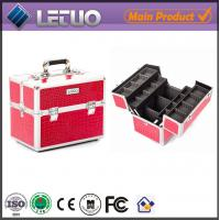 Wholesale LT-MC3011 Classic Pink Croc Beauty Case makeup cosmetic cosmetic bags from china suppliers