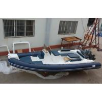 Quality Large Rigid Hulled Inflatable RIB Boats Tenders Inflatable Power Boats 7.0 Meter for sale