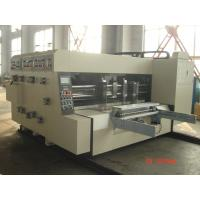 Wholesale Slotting Die-Cutting Automated Carton Box Printing Machine from china suppliers