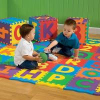 Wholesale Interlocking Childrens Play Mat Safety For Playroom , Daycare And Swimming Pool from china suppliers