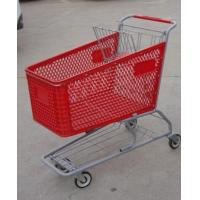 Wholesale 180L Metal Chassis Supermarket Shopping Carts Plastic 1030 x 575 x 1015mm from china suppliers