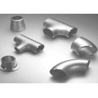 Carbon Steel / Stainless Steel Butt Weld Fittings Steel Pipe Tee with ISO9001 Approvals