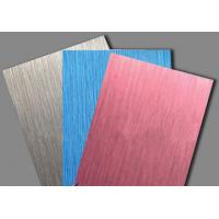 Wholesale LINYI Brushed Serias Aluminum Plastic Composite Panel/ACP FOR CONSTRUCTION   from china suppliers