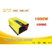 Wholesale Single Phase Inverter Dc To Ac 12v 220v 1000 Watt Pure Sine Wave Inverter from china suppliers