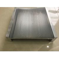 Buy cheap 6061 Alloy CNC Milling Large Aluminium Heat Sink Profiles 300MM Width from wholesalers