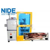Buy cheap Horizontal Toroid Full Automatic Coil Winding Machine For Big Wire Electric Motor Stator from wholesalers