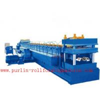 Wholesale 2mm - 4mm Thickness 30KW Roll Forming Machine For Making Highway Guardrail from china suppliers