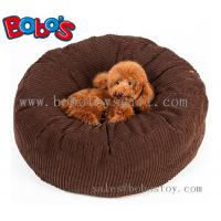 Wholesale High Quanlity Plush Thick Pet Bed Dog Sofa Cat Mat In Dark Brown Color from china suppliers