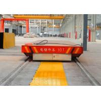 Wholesale 20t construction site drilling roll handling railway transfer car from china suppliers