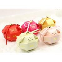Wholesale Cute small assemble paper box for candy and snacks of wedding gift from china suppliers