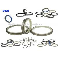 Wholesale DKBI / DKB / NBR PU Hydraulic Wiper Seals , Machinery Hydraulic Oil Seal from china suppliers