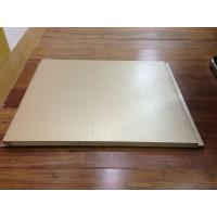 Buy cheap Colorful Embossed PU Wall Panels / Insulation AluminumPanel Fireproof from wholesalers