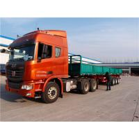 Wholesale multi axle 40 ft 48 flat bed trailer side wall semi trailers - CIMC from china suppliers