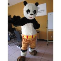 Wholesale custom adults cartoon Kungfu Panda mascot costumes with plush from china suppliers