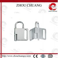 Wholesale NEW DESIGN Zc-K31 Dust  Proof  Butterfly Steel  Lockout Hasp  60mm from china suppliers