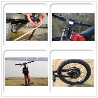 Wholesale 5000watt Power Top Speed Off Road Electric Bike , Off Road Motorized Bicycle from china suppliers