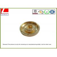 Wholesale OEM Stainless Steel / Aluminum / Brass Shaft CNC Machined Components from china suppliers