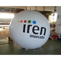 Wholesale Advertising Helium Balloon White Inflatable Ball with Logo for Advertisement from china suppliers