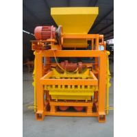 Wholesale Portable Small Concrete Block Machine , Full Automatic Fly Ash Brick Making Machine from china suppliers