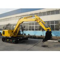 Quality Heavy Equipment Excavator Swing Speed 11RPM , Long Reach Excavators for sale
