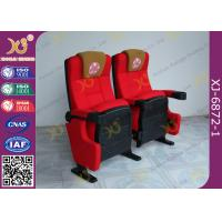 Wholesale Push Back Function Folding Theater Chairs Removable Legs Movie Seating For Auditorium from china suppliers