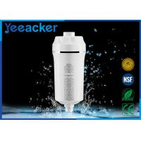 Wholesale Household Skin And Hair Care Shower Water Filter Size 86 mm x 86 mm x 210 mm from china suppliers