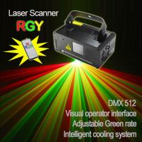 Wholesale Red+Green color  Mini disco Laser beam Projector with scanner (single hole) from china suppliers