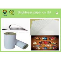 Wholesale 80gsm - 250gsm Glossy Invitation Paper , Glossy White Paper Offset Printing from china suppliers