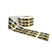 Quality Engine Oil Jar Custom Sticker Labels With Coated Paper Glossy Lamination for sale