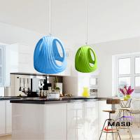 Wholesale Latest Soldier Helmet Look Colorful finishe Shape Modern Simple Home Pendant Lamp MS-P1056 from china suppliers