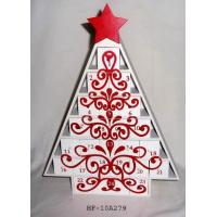 Buy cheap Hotsale Wooden Christmas Tree Advent Calendar, christmas gifts, holiday gifts, family gift from wholesalers