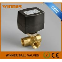 Wholesale Refrigeration Equipment Electric Operated Valve Water Flow Control Electric Water Valve from china suppliers