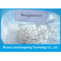Wholesale USP Norgestrel CAS 6533-00-2 Anti Estrogen Steroids to Prevent Pregnancy , Purity 99.5% from china suppliers