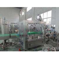 Wholesale 3000 BPH Water Glass Bottle Filling Machine With Twist off Cap , Hot Filling Machine from china suppliers