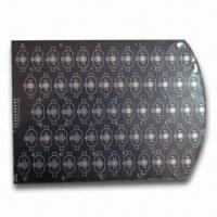 Wholesale Black Aluminum PCB with Routing Outline, Black Silkscreen and 1.6mm Board Thickness from china suppliers