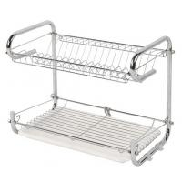 Wholesale Wire Stainless Steel Dish Drainer , Customized Color Kitchen Dish Drying Rack from china suppliers