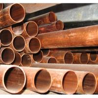 Wholesale Nonferrous Metals Round Copper Pipe / Tube For Oil Transportation from china suppliers