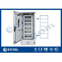 Wholesale Double Wall Three Shelves Telecom Outdoor Cabinet Sunproof ISO9001 CE Certification from china suppliers