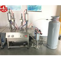 Wholesale Vacuum Cartridge LPG Gas Filling Machine, Butane Gas Bottle Filling Machine from china suppliers