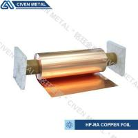 Wholesale 650mm wide width HP-RA copper foil C11000 with high conductivity in roll ISO9001/SGS from china suppliers