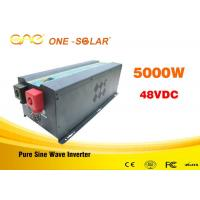 Wholesale Automatic Protect Off Grid Solar Energy Inverter 6000w 50HZ / 60HZ 48volt from china suppliers