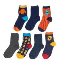 Wholesale Boys 7-Pack Monster Socks from china suppliers