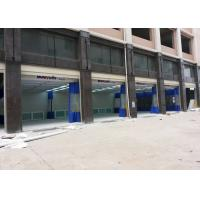 Buy cheap High Efficiency Auto Body Paint Booth Prep Station PVC Curtain Separated from wholesalers