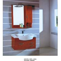 Wholesale Light brown bathroom cabinet 0.5 Vanity Size , 70 * 80 * 16cm mirror modern bathroom sink cabinets from china suppliers